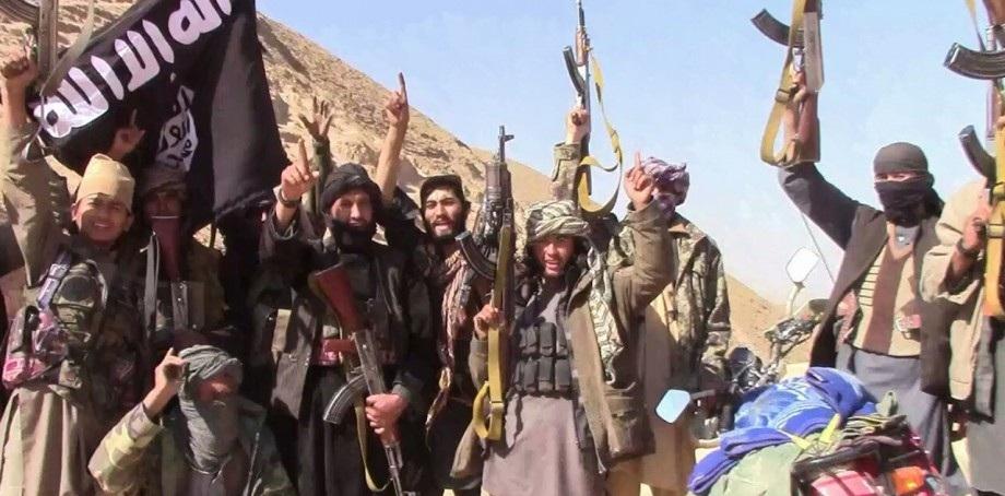 په جوزجان ولایت کې د داعش ډلې جنګیالي - انځور: د داعش رسمي خبري اژانس