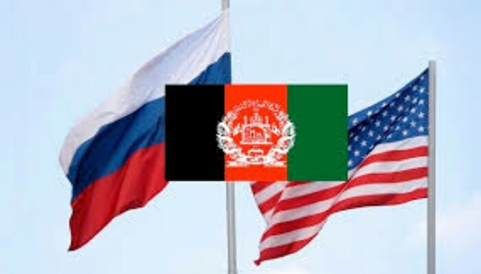 روسیه، امریکا، افغانستان