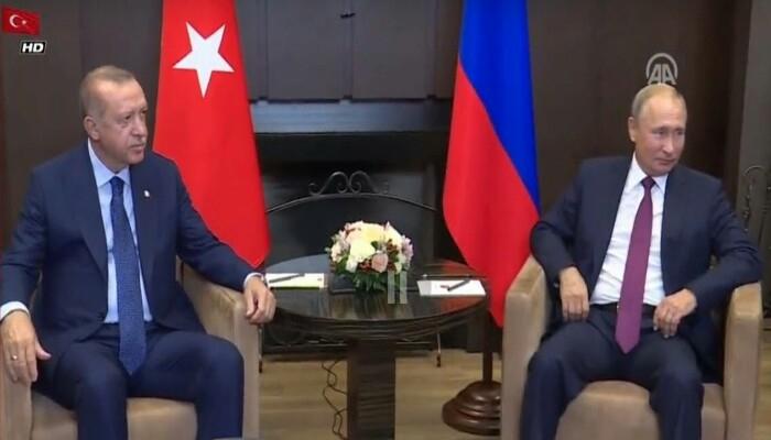 اردوغان - پوتین